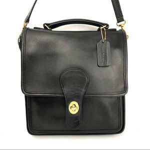 Vintage Coach Leather Crossbody Bag #0895-349